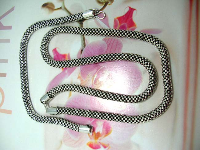 Collectible jewelry wholesale collection, Thick, 925. sterling silver in checkered fashion design