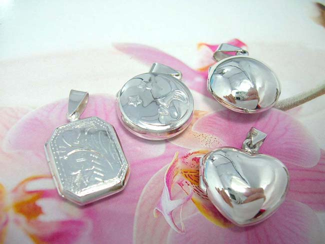 Gift exporter supplies High quality 925. sterling silver locket pendant