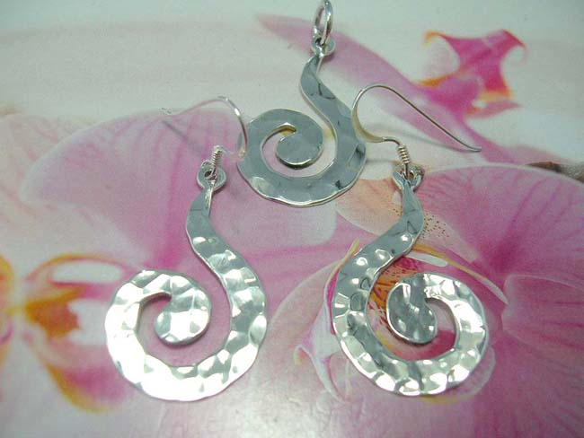 Sexy sterling silver jewelry set in spiral theme, crafted from 925. sterling silver, bali fashion supply exporter